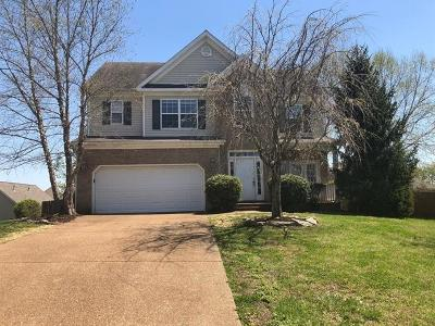 Thompsons Station  Rental Under Contract - Not Showing: 2659 Hansford Drive