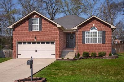 Mount Juliet Single Family Home Under Contract - Showing: 417 Anthony Branch Dr