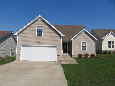Clarksville Single Family Home For Sale: 527 Fox Trot Dr