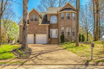 Spring Hill Single Family Home For Sale: 1503 Halifax Dr