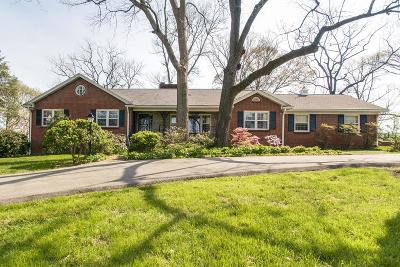 Nashville Single Family Home Under Contract - Showing: 3128 Hunters Hill Rd