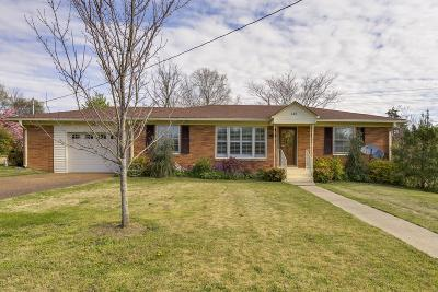Lewisburg Single Family Home For Sale: 610 Clyde St