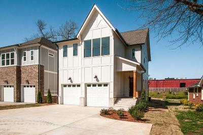Nashville TN Single Family Home For Sale: $725,000