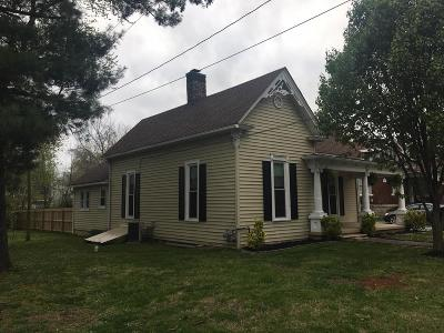Robertson County Single Family Home For Sale: 1309 Batts Blvd