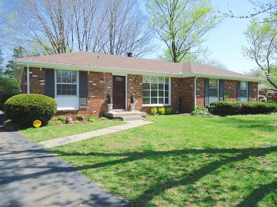Clarksville Single Family Home Under Contract - Showing: 244 Kingswood Dr