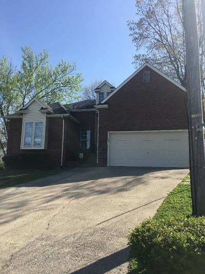 Hendersonville Single Family Home For Sale: 106 Red Maple Ct
