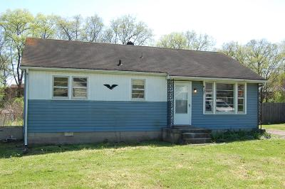 Single Family Home For Sale: 107 Nokes Dr