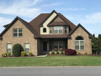 Murfreesboro TN Single Family Home For Sale: $489,600