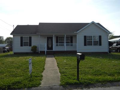 Shelbyville Single Family Home For Sale: 105 Boardwalk Way