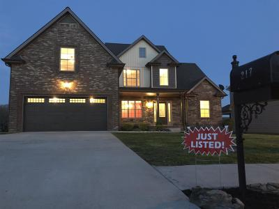 Clarksville Single Family Home Under Contract - Showing: 217 Ivy Bend Circle
