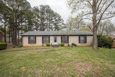 Clarksville Single Family Home For Sale: 113 Carney Rd