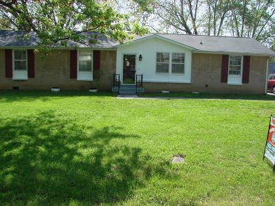 Clarksville Single Family Home For Sale: 2308 Pendleton Dr