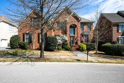 Franklin TN Single Family Home For Sale: $587,900