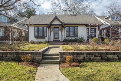Nashville Single Family Home For Sale: 133 Kenner Ave
