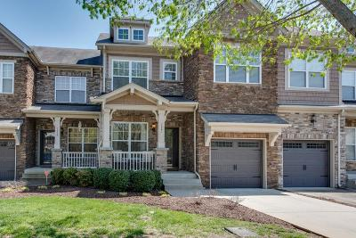 Nolensville Condo/Townhouse For Sale: 7521 Kemberton Ct