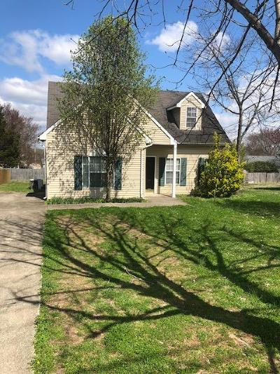 Lavergne Single Family Home Under Contract - Showing: 604 Hollandale Rd