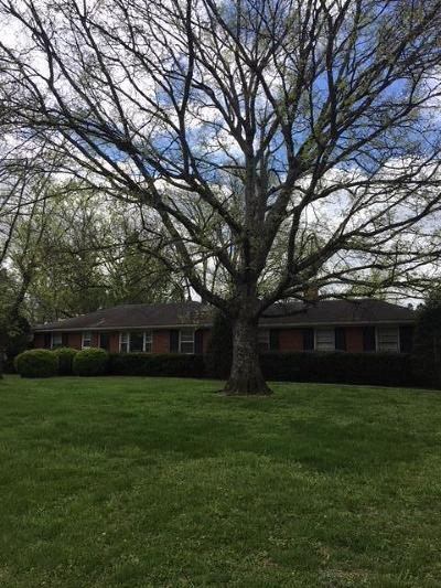 Nashville Single Family Home For Sale: 125 Laird Rd