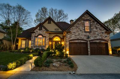 Nashville TN Single Family Home For Sale: $1,050,000