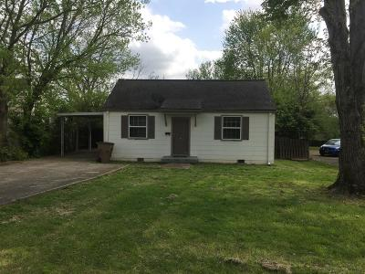 Davidson County Single Family Home For Sale: 1327 Mars Dr