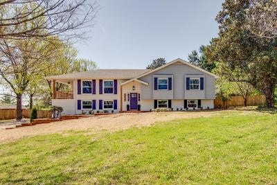Brentwood  Single Family Home Under Contract - Showing: 5737 Cloverland Dr