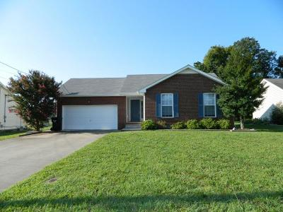 Clarksville Single Family Home For Sale: 604 Corinth Ct