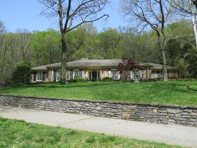 Nashville TN Single Family Home For Sale: $950,000