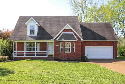 Smyrna Single Family Home For Sale: 372 Clarkston Dr