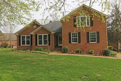 Wilson County Single Family Home Under Contract - Showing: 3401 McVie Ct