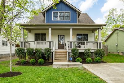 Nashville Single Family Home For Sale: 315 Marshall St