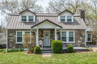 Davidson County Single Family Home For Sale: 1440 Ocoee Trl