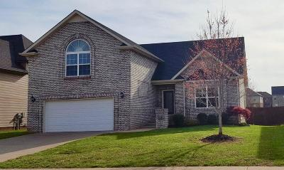 Clarksville TN Single Family Home For Sale: $249,300