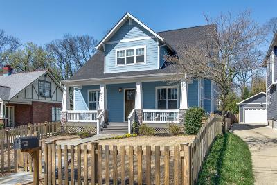 Nashville Single Family Home For Sale: 2606 West Linden Avenue