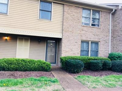 Nashville Condo/Townhouse For Sale: 221 Westfield Dr
