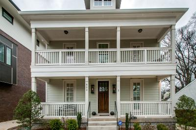 Nashville Single Family Home For Sale: 802 Montrose Ave