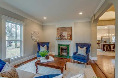 Nashville Single Family Home For Sale: 1311 Clay St