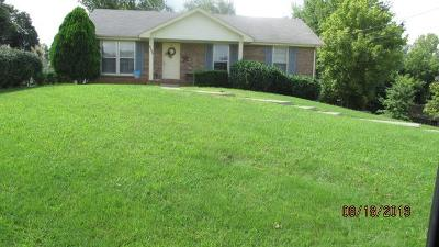 Christian County, Ky, Todd County, Ky, Montgomery County Rental For Rent: 1568 Barrett Drive