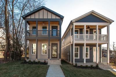 Nashville Single Family Home For Sale: 338 Vivelle Ave