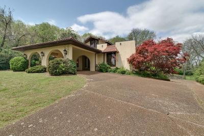 Nashville Single Family Home For Sale: 86 Valley Forge