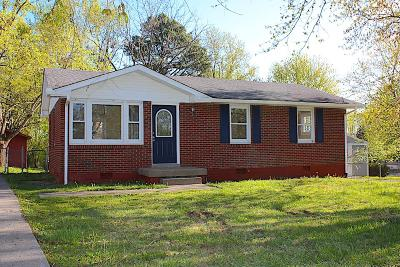 Robertson County Single Family Home For Sale: 2200 Yount Dr