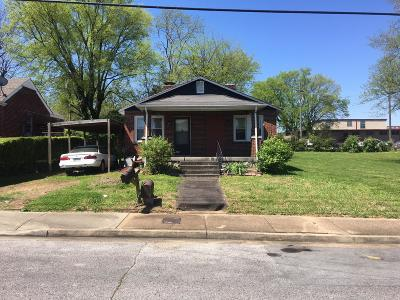 Davidson County Single Family Home For Sale: 1043 31st Ave N