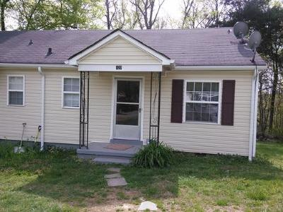 Christian County, Ky, Todd County, Ky, Montgomery County Rental For Rent: 127 Allison
