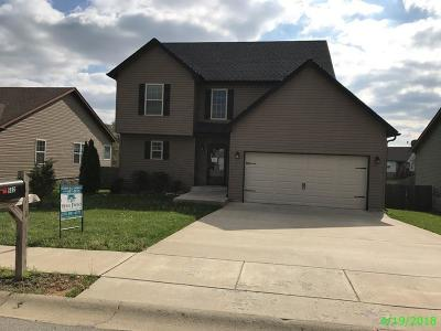 Clarksville Single Family Home For Sale: 582 Kicker Ct