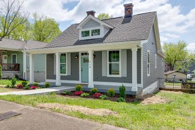 Nashville Single Family Home For Sale: 918 Marina St