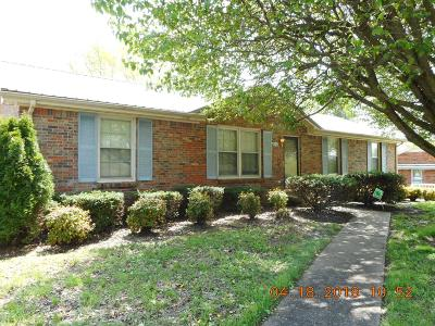 Clarksville Single Family Home Active - Showing: 1809 Apex Dr.