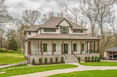 Nashville TN Single Family Home For Sale: $1,475,000