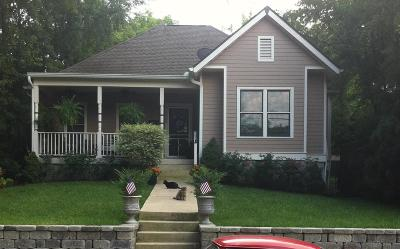 Nashville Single Family Home For Sale: 1708 Forrest Ave
