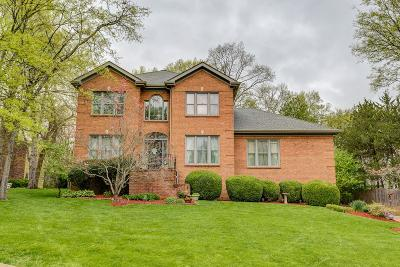 Nashville Single Family Home Under Contract - Showing: 8036 Montcastle Dr