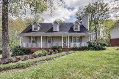 Dickson Single Family Home For Sale: 157 Hickory Hollow Dr