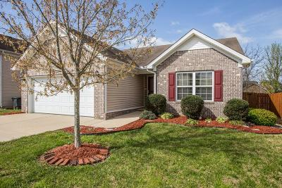 Spring Hill  Single Family Home Under Contract - Showing: 4003 Deer Run Trce