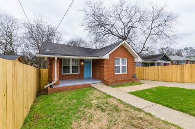 Nashville Single Family Home For Sale: 1601 23rd Ave N